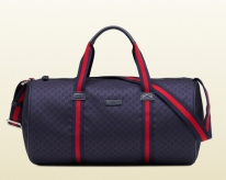 Who says your father can't be dapper and working on his fitness simultaneously? Not Gucci which why the Gucci gym bag is the ideal gift for your athletic father. Nylon gym bag ($495) by Gucci, gucci.com