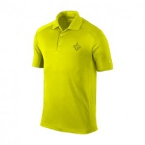 What better way to flex his skills on the golf course than representing his favorite team while doing so. Saints Golf Men's Yellow Victory Polo by Nike, $94, http://www.neworleanssaintsteamshop.com/