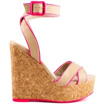 NEON| Veda Soul Maggie Wedges, $50, available at heels.com