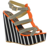 STRIPES| ASOS HILLTOP Wedges, $81, available at ASOS.com