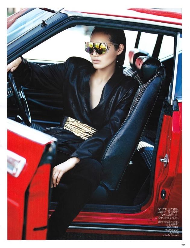 Chiharu Okunugi for Vogue China November 2013
