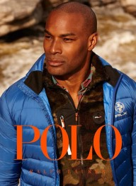Tyson Beckford for Polo Ralph Lauren Fall 2013