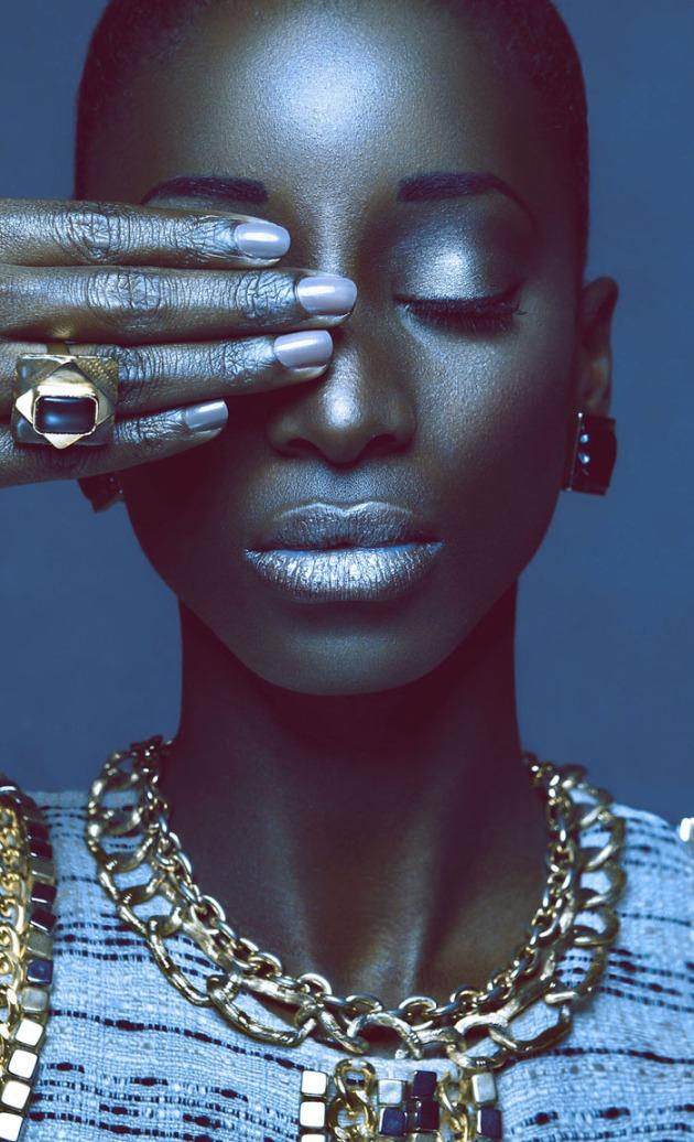 Beauté Noire by Cameroonian Photographer Orphee Noubissi