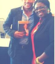 Philanthropist, Author, Actor & Activist Hill Harper & Style Editor Tamisha Monet
