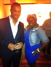 Robert Holness VP of Retail for Kurt Geiger London and Style Editor Tamisha Monet