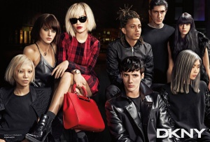 Rita Ora By Lachlan Bailey For DKNY Fall/Winter 2014 Ad Campaign